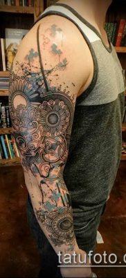 фото тату абстракция (tattoo abstraction) (значение) – пример рисунка – 032 tatufoto.com
