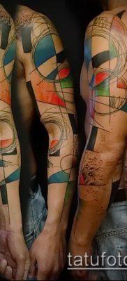 фото тату абстракция (tattoo abstraction) (значение) – пример рисунка – 035 tatufoto.com