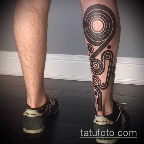 фото тату абстракция (tattoo abstraction) (значение) - пример рисунка - 040 tatufoto.com