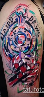фото тату абстракция (tattoo abstraction) (значение) – пример рисунка – 062 tatufoto.com