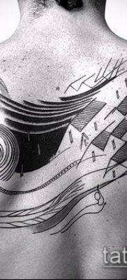 фото тату абстракция (tattoo abstraction) (значение) – пример рисунка – 063 tatufoto.com