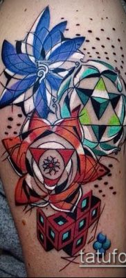 фото тату абстракция (tattoo abstraction) (значение) – пример рисунка – 064 tatufoto.com