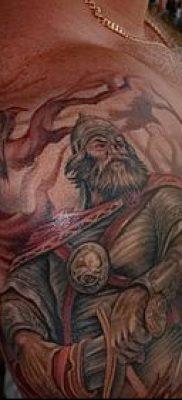 фото тату богатырь (strong man tattoo) (значение) – пример рисунка – 001 tatufoto.com