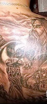фото тату богатырь (strong man tattoo) (значение) – пример рисунка – 002 tatufoto.com