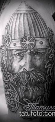 фото тату богатырь (strong man tattoo) (значение) – пример рисунка – 003 tatufoto.com