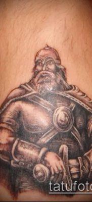 фото тату богатырь (strong man tattoo) (значение) – пример рисунка – 005 tatufoto.com