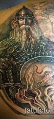 фото тату богатырь (strong man tattoo) (значение) – пример рисунка – 008 tatufoto.com