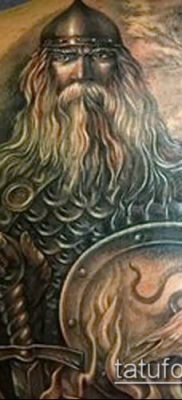 фото тату богатырь (strong man tattoo) (значение) – пример рисунка – 009 tatufoto.com