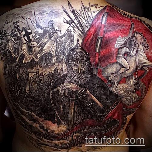 фото тату богатырь (strong man tattoo) (значение) - пример рисунка - 010 tatufoto.com
