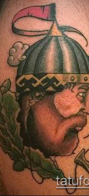 фото тату богатырь (strong man tattoo) (значение) – пример рисунка – 012 tatufoto.com