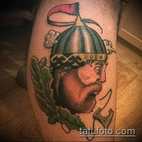 фото тату богатырь (strong man tattoo) (значение) - пример рисунка - 012 tatufoto.com