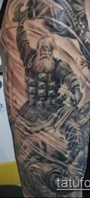 фото тату богатырь (strong man tattoo) (значение) – пример рисунка – 015 tatufoto.com
