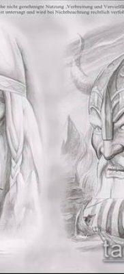 фото тату богатырь (strong man tattoo) (значение) – пример рисунка – 016 tatufoto.com
