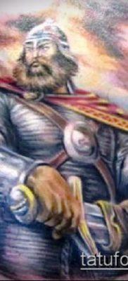 фото тату богатырь (strong man tattoo) (значение) – пример рисунка – 019 tatufoto.com