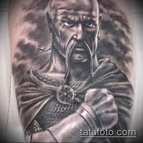 фото тату богатырь (strong man tattoo) (значение) - пример рисунка - 021 tatufoto.com