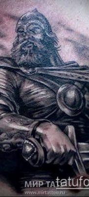 фото тату богатырь (strong man tattoo) (значение) – пример рисунка – 022 tatufoto.com