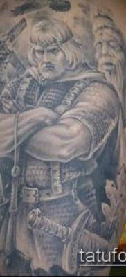 фото тату богатырь (strong man tattoo) (значение) – пример рисунка – 023 tatufoto.com
