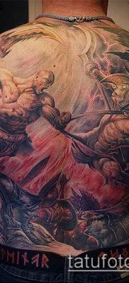 фото тату богатырь (strong man tattoo) (значение) – пример рисунка – 025 tatufoto.com