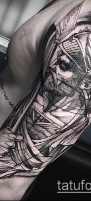 фото тату богатырь (strong man tattoo) (значение) – пример рисунка – 026 tatufoto.com