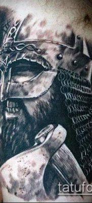 фото тату богатырь (strong man tattoo) (значение) – пример рисунка – 028 tatufoto.com