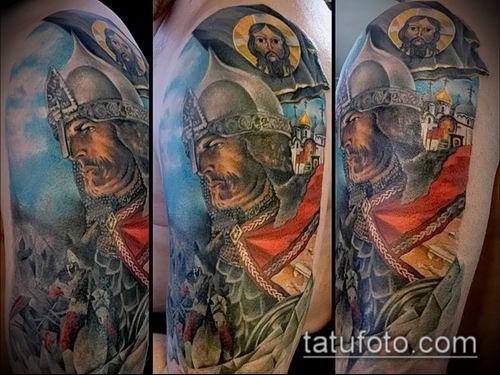 фото тату богатырь (strong man tattoo) (значение) - пример рисунка - 030 tatufoto.com