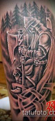 фото тату богатырь (strong man tattoo) (значение) – пример рисунка – 032 tatufoto.com