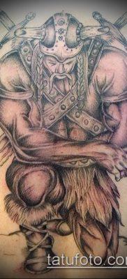 фото тату богатырь (strong man tattoo) (значение) – пример рисунка – 039 tatufoto.com