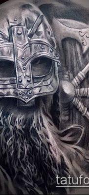 фото тату богатырь (strong man tattoo) (значение) – пример рисунка – 040 tatufoto.com
