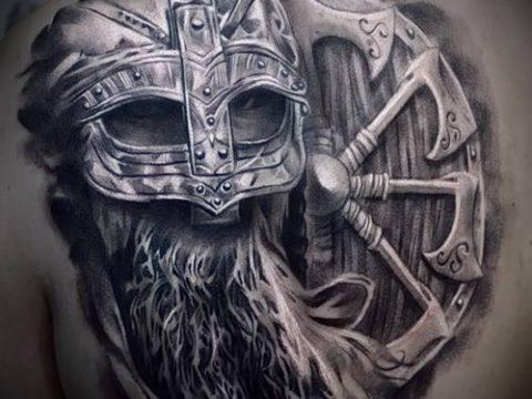 фото тату богатырь (strong man tattoo) (значение) - пример рисунка - 040 tatufoto.com