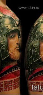фото тату богатырь (strong man tattoo) (значение) – пример рисунка – 045 tatufoto.com