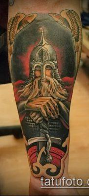 фото тату богатырь (strong man tattoo) (значение) – пример рисунка – 046 tatufoto.com