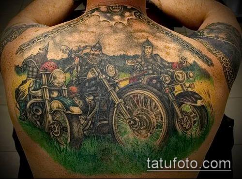 фото тату богатырь (strong man tattoo) (значение) - пример рисунка - 047 tatufoto.com