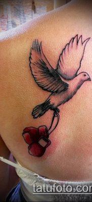 фото тату боксерские перчатки (Tattoo) (значение) – пример рисунка – 001 tatufoto.com