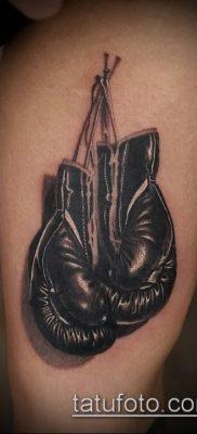 фото тату боксерские перчатки (Tattoo) (значение) – пример рисунка – 003 tatufoto.com