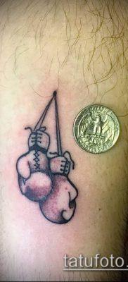 фото тату боксерские перчатки (Tattoo) (значение) – пример рисунка – 004 tatufoto.com