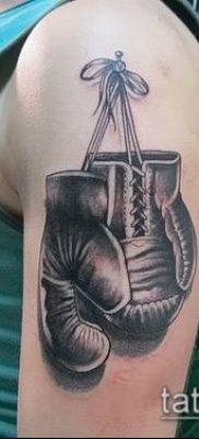 фото тату боксерские перчатки (Tattoo) (значение) – пример рисунка – 006 tatufoto.com