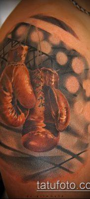 фото тату боксерские перчатки (Tattoo) (значение) – пример рисунка – 007 tatufoto.com