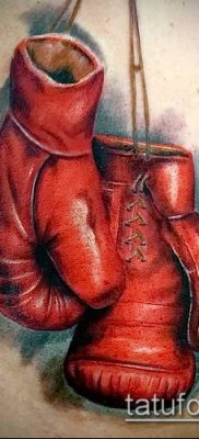 фото тату боксерские перчатки (Tattoo) (значение) – пример рисунка – 010 tatufoto.com
