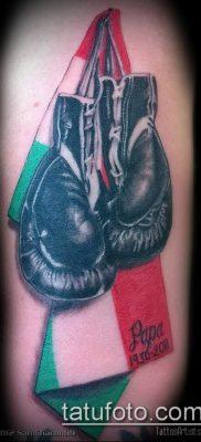 фото тату боксерские перчатки (Tattoo) (значение) – пример рисунка – 015 tatufoto.com