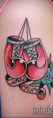 фото тату боксерские перчатки (Tattoo) (значение) – пример рисунка – 016 tatufoto.com