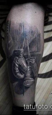 фото тату боксерские перчатки (Tattoo) (значение) – пример рисунка – 019 tatufoto.com