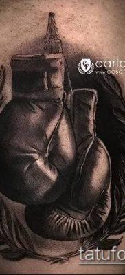 фото тату боксерские перчатки (Tattoo) (значение) – пример рисунка – 025 tatufoto.com