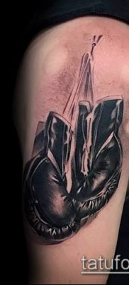 фото тату боксерские перчатки (Tattoo) (значение) – пример рисунка – 031 tatufoto.com