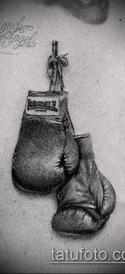 фото тату боксерские перчатки (Tattoo) (значение) – пример рисунка – 034 tatufoto.com
