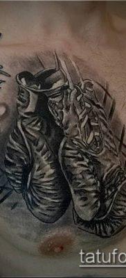 фото тату боксерские перчатки (Tattoo) (значение) – пример рисунка – 039 tatufoto.com