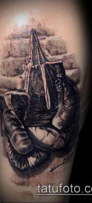 фото тату боксерские перчатки (Tattoo) (значение) – пример рисунка – 049 tatufoto.com