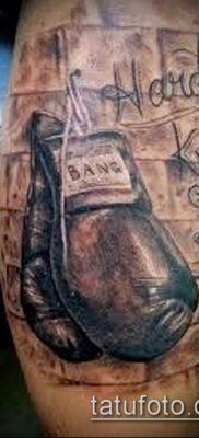 фото тату боксерские перчатки (Tattoo) (значение) – пример рисунка – 052 tatufoto.com