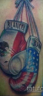 фото тату боксерские перчатки (Tattoo) (значение) – пример рисунка – 053 tatufoto.com
