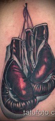 фото тату боксерские перчатки (Tattoo) (значение) – пример рисунка – 055 tatufoto.com