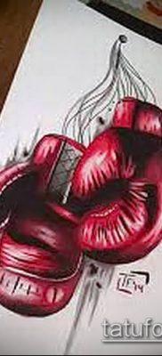 фото тату боксерские перчатки (Tattoo) (значение) – пример рисунка – 057 tatufoto.com